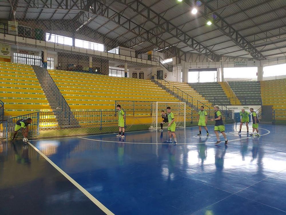 Crédito: Assessoria Assoeva - Equipe vem se preparando para a LNF e a Taça Brasil Sicredi