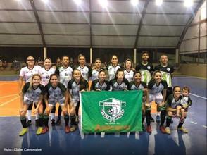 Campestre embarca para PE em outubro para disputa do Brasileiro de Futsal feminino
