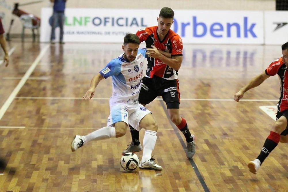 Crédito: Vitor Kortmann - O Foz Cataratas conquistou um importante empate diante do Joinville
