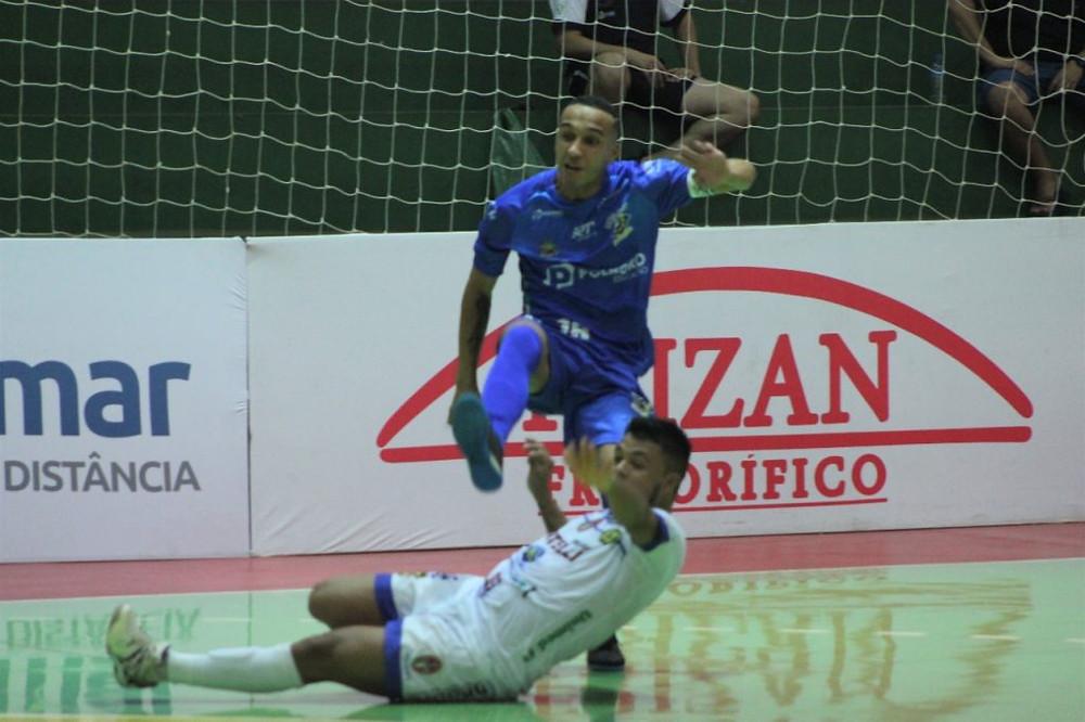 Crédito: Brenno Domingues - Biel marcou o primeiro gol do São José na partida
