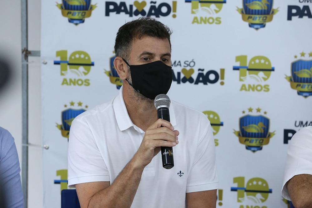 Crédito: Mauricio Moreira - Lavarda comentou sobre o desligamento do clube