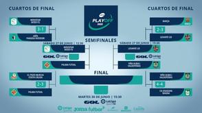 Definida as semifinais do playoff da primeira divisão