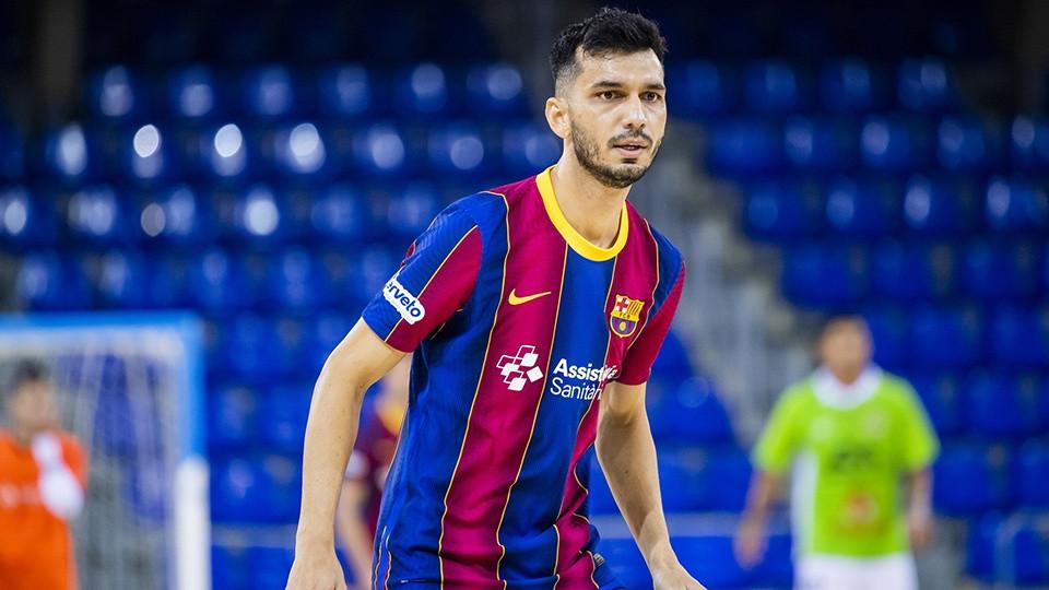 Crédito: LNFS - Esquerdinha afina a pontaria para voltar a marcar pelo Barcelona