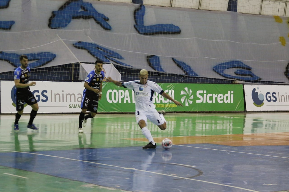 Crédito: Gustavo Ribeiro - Gui autor de 2 gols pelo Real Madruga