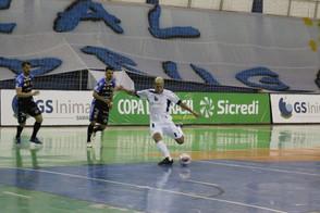 Pato Futsal se classifica para as quartas de finais da Copa do Brasil Sicredi