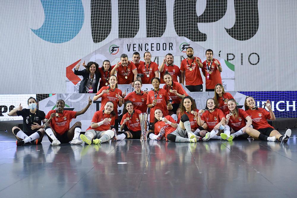 Crédito: FPF - Benfica conquista a 1ª Edição da Taça da Liga