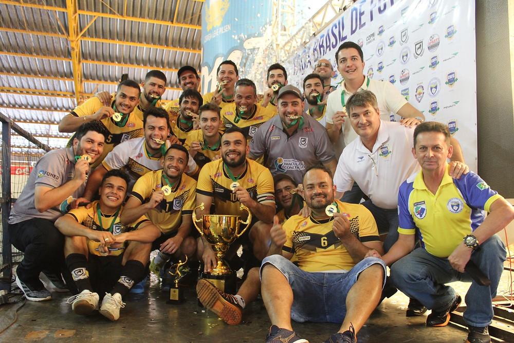 Crédito: Hélio Lima/Blog A Bola Rolou - Juventude venceu a Primeira Divisão da Taça em 2019