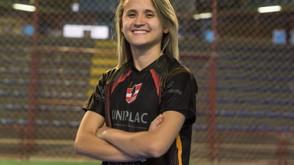 """Maior que Messi? Site da Fifa dá destaque à """"dinastia"""" de Amandinha no futsal feminino"""