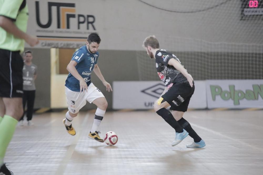 Crédito: Alisson Lima - Campo Mourão e Foz Cataratas se enfrentaram nas Oitavas de Final da LNF2019
