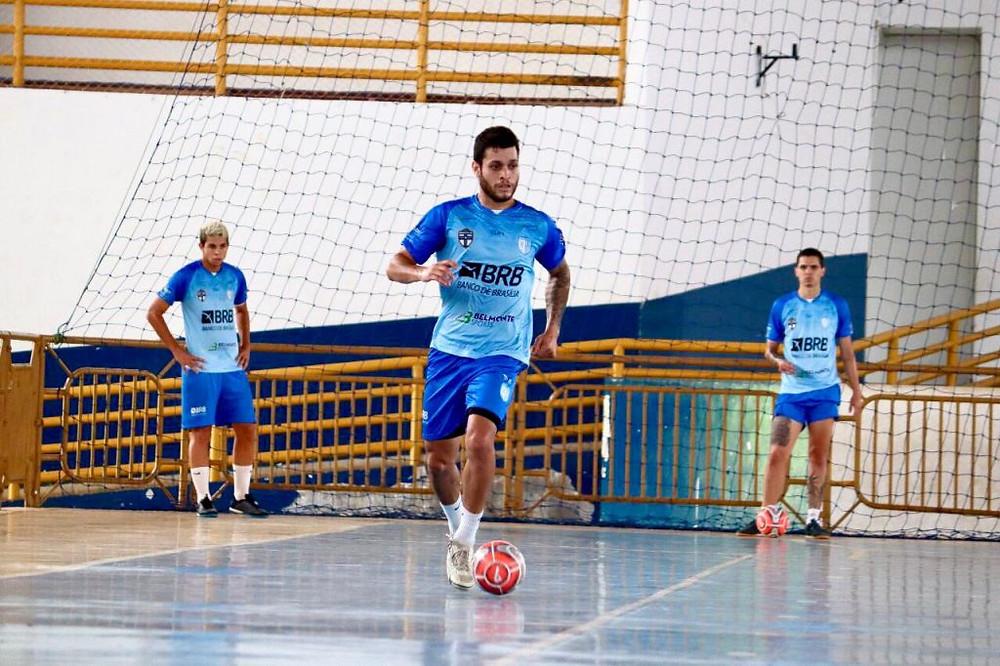 Crédito: Marcelo Laitano - O Brasília é o estreante da temporada na LNF