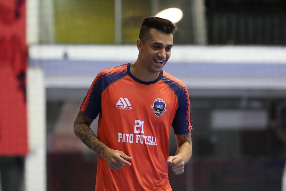 Crédito: Mauricio Moreira - Neguinho está de volta ao Pato Futsal