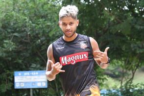 Leandro Lino comemora temporada
