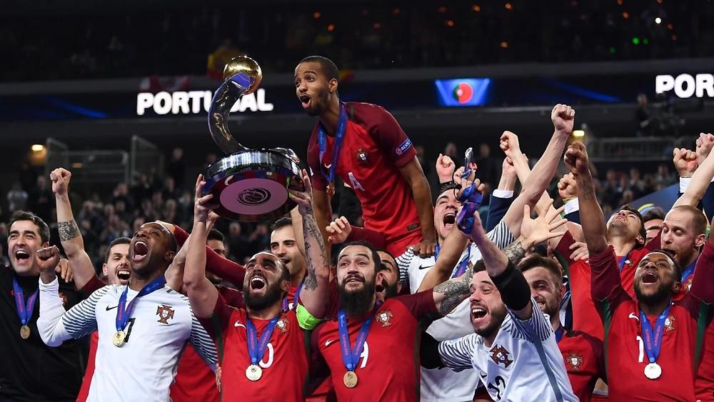 Crédito: UEFA - Portugal é a atual campeã da Euro