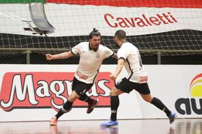Pato e Corinthians se enfrentam na segunda rodada da Supercopa Magnus de Futsal