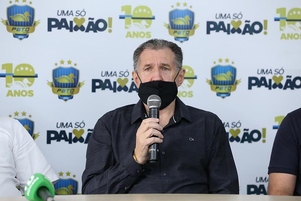 Crédito: Mauricio Moreira - Alcir Camozzato, o Paraguai, é o novo presidente do Pato