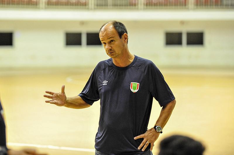 Crédito: Ricardo Artifon - Morruga, novo treinador da Assoeva