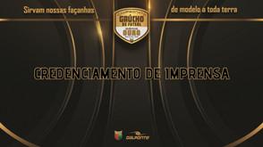 Credenciamento de Imprensa para as partidas da Federação Gaúcha