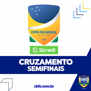 Definido as semifinais da Copa do Brasil Sicredi