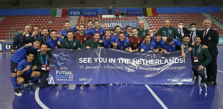 Crédito: Divulgação FIGC - Itália garantiu classificação para o mundial
