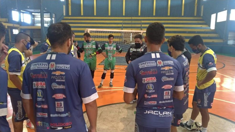 Crédito: Intelli Divulgação - Intelli Tempersul ficou longe dos treinos em quadra por pouco mais de cinco meses