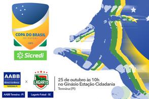 Segunda partida da primeira fase entre Lagarto e AABB pela Copa do Brasil Sicredi