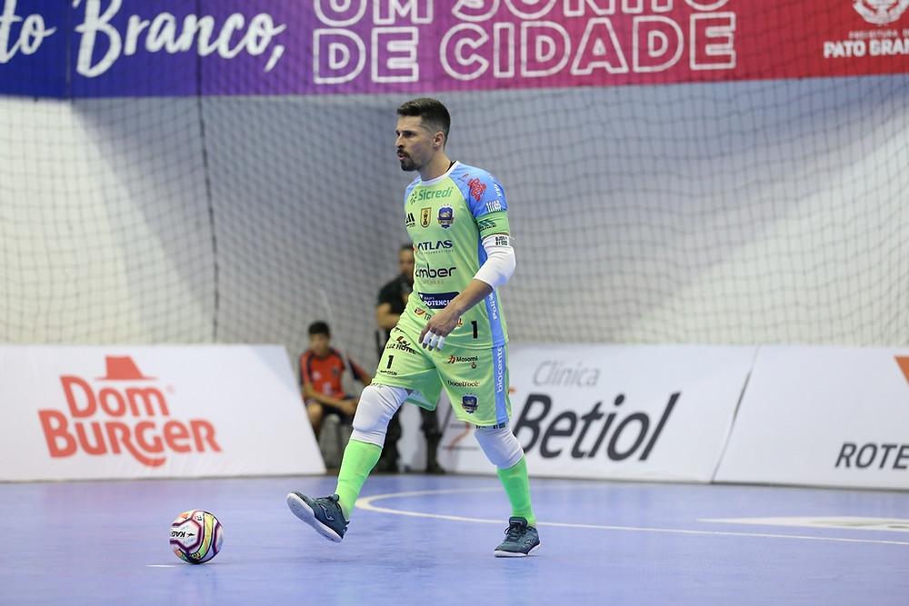 Crédito: Mauricio Moreira - Djony conquistou grandes títulos pelo Pato Futsal