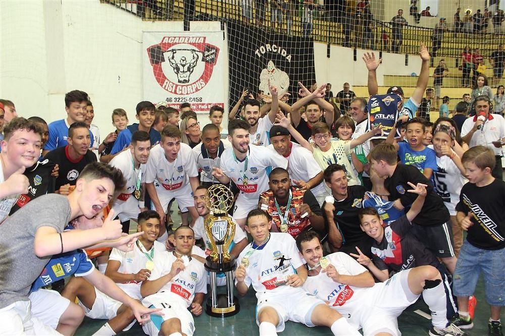 Crédito: Mauricio Moreira - m 2016, o Pato garantiu acesso para elite do futsal paranaense