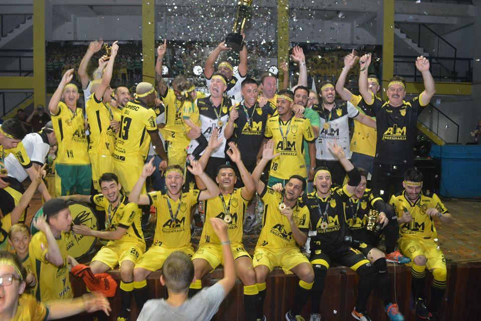 Crédito: Assessoria Assoeva - Equipe foi campeã da competição na temporada passada