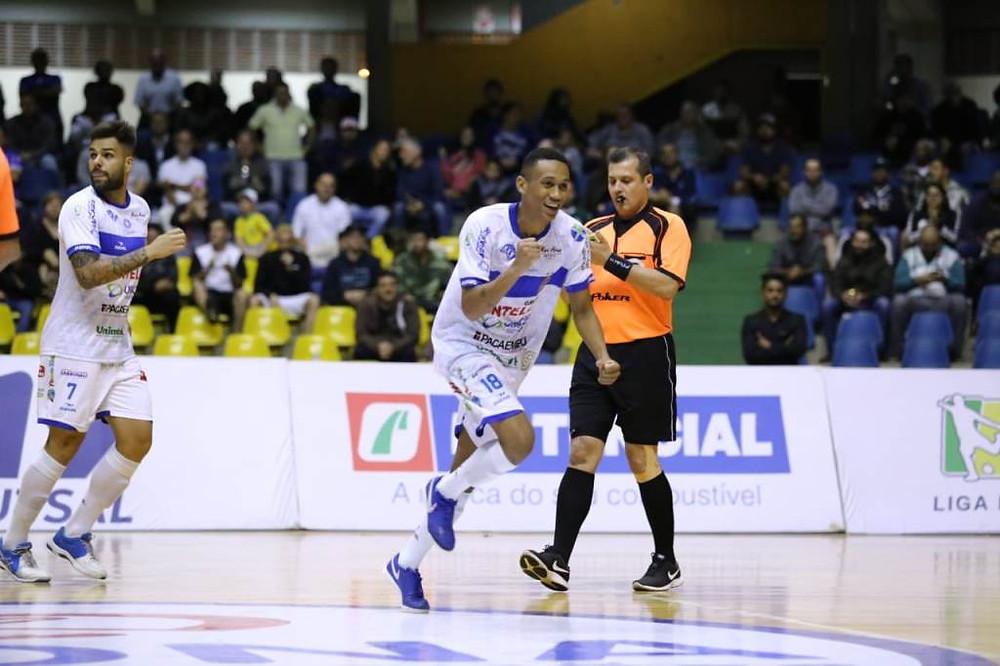 Crédito: Mauricio Moreira - Intelli abriu 2 a 0 contra o Pato, mas permitiu a virada