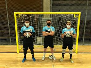 Minas conta com três jovens que prometem fechar o gol na Liga Nacional de Futsal