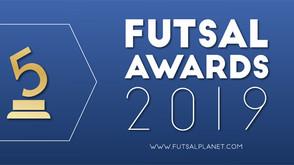 Vencedores do Futsalplanet Awards 2019