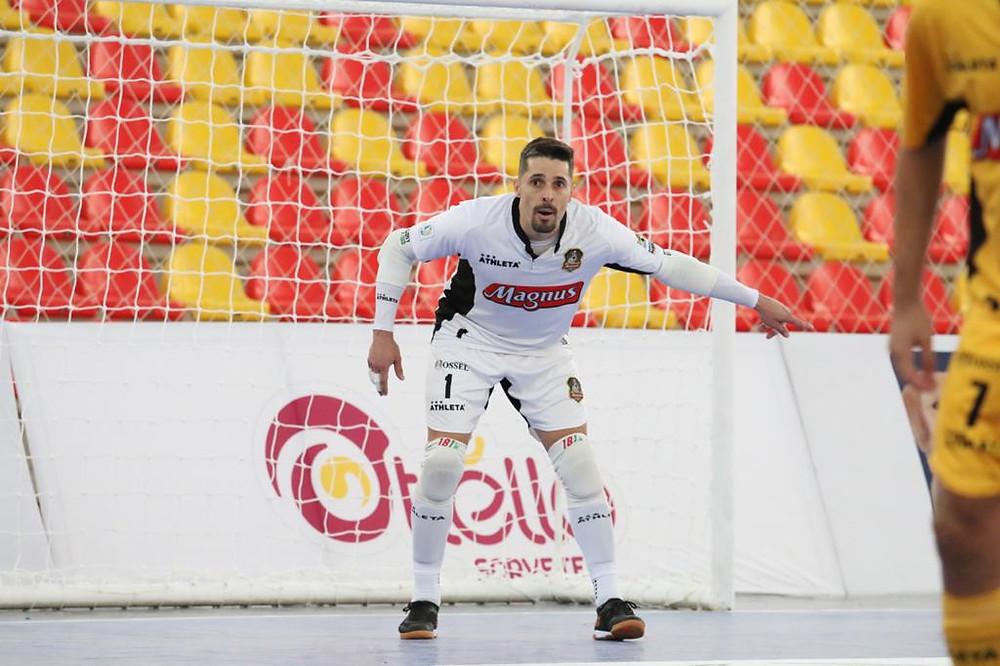 Crédito: Guilherme Mansuetto - Djony, goleiro do Magnus, vem de três títulos seguidos de LNF