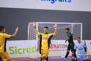 Magnus Futsal aplica goleada pela Taça Brasil Sicredi