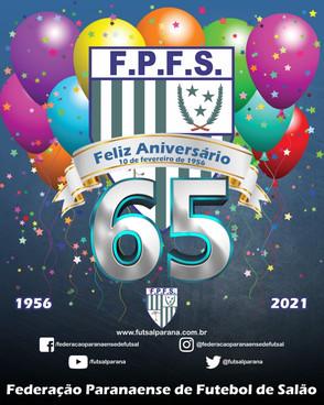 Federação Paranaense completa 65 anos