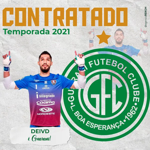 Guarani anuncia goleiro experiente para a temporada