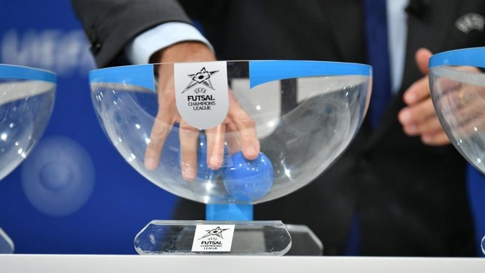 Crédito: LNFS - Sorteio da Liga dos Campeões