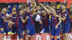 Barça é campeão da LNFS