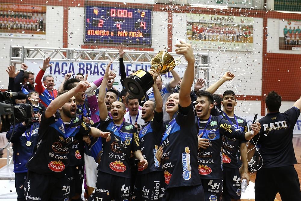 Crédito: Assessoria Pato - Pato campeão da Taça Brasil de Clubes 2018