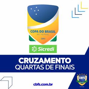 CBFS divulga tabela da 2ª fase e transmissões da Copa do Brasil Sicredi Masculina