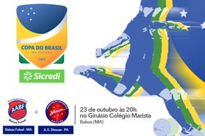 Segunda partida Balsas x Shouse pela Copa do Brasil Sicredi