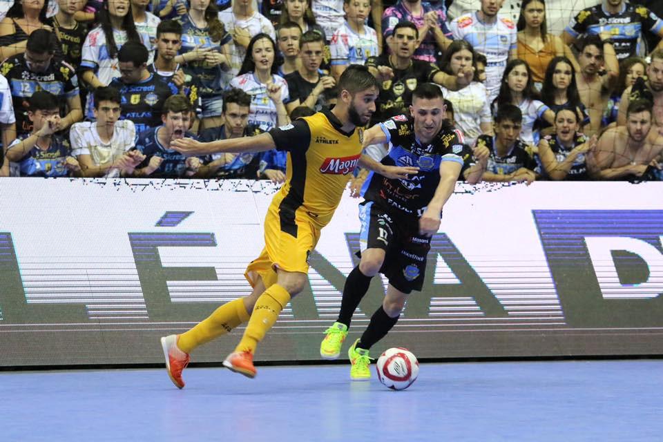 Crédito: Mauricio Moreira - Pato venceu o jogo de ida da final da LNF2019