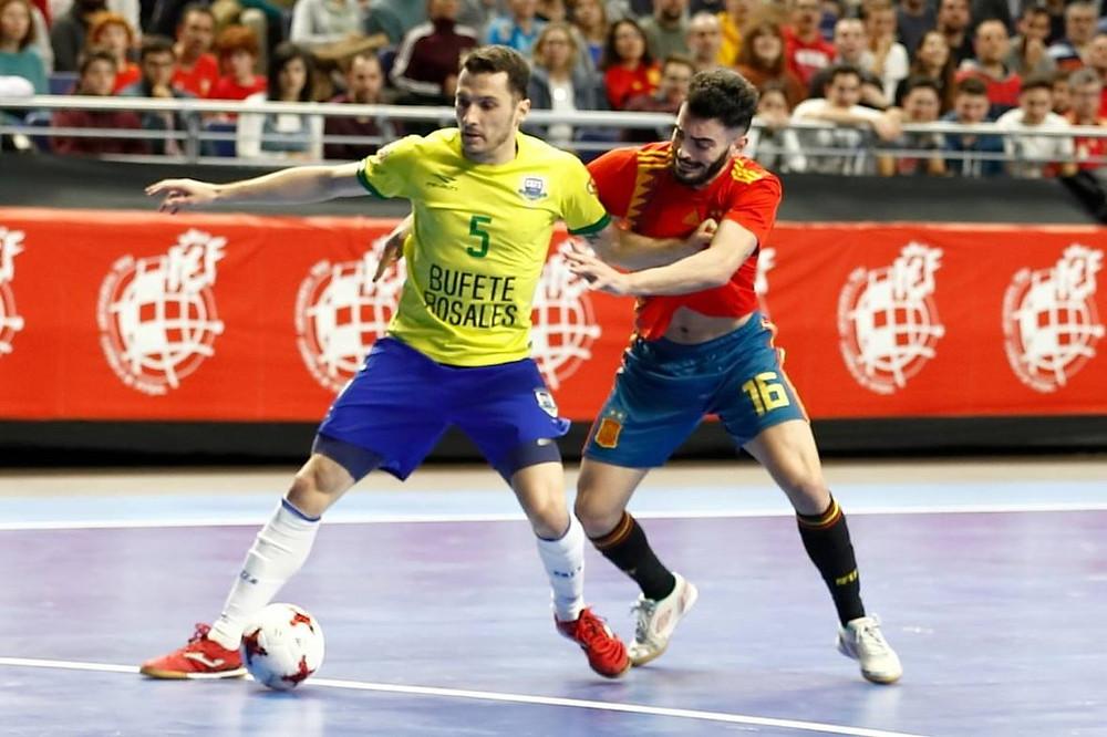 Crédito: Seleção Espanhola - Brasil e Espanha se encontrarão essa semana para um jogo amistoso.