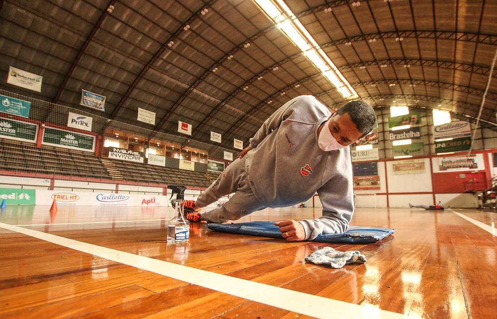 Crédito: Edson Castro - Equipe esta se preparando para a volta das competições