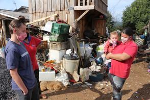 Reconstrução: Família de atleta precisa de auxílio