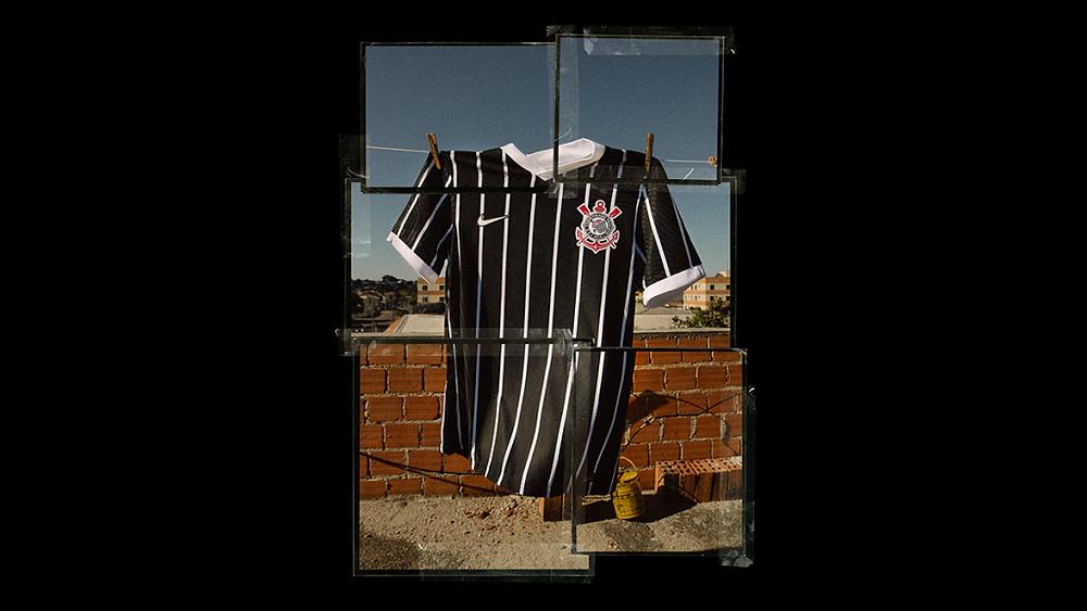 Crédito: Agência Corinthians - Camisa listrada é tradição no clube