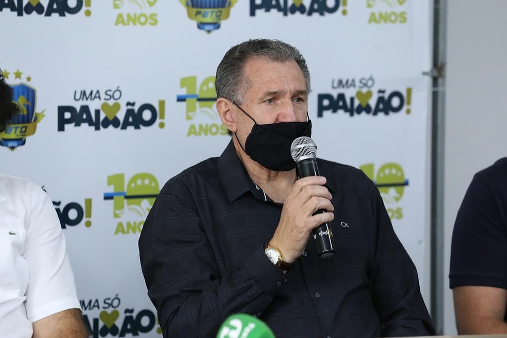 Crédito: Mauricio Moreira - Presidente do Pato , Alcir Camozatto confirmou a renovação do atleta