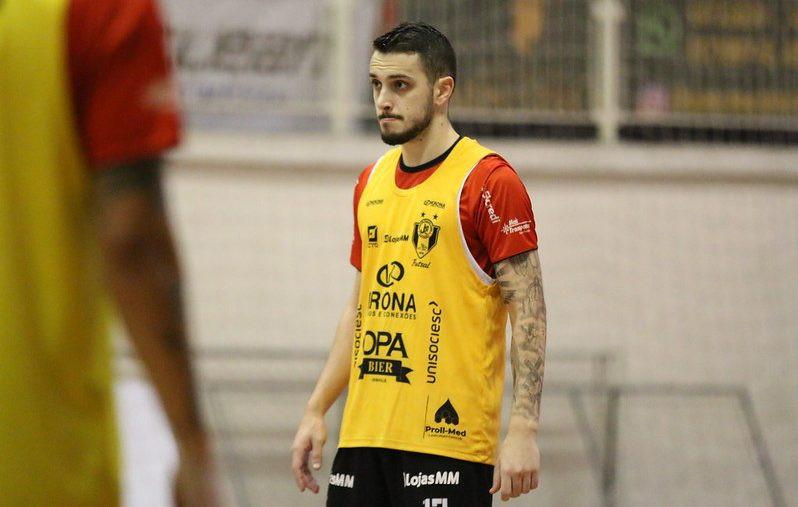 Crédito: Vitor Kortmann - Conhecido pelo poder de finalização, João Salla deixa o Joinville sem nenhum gol marcado