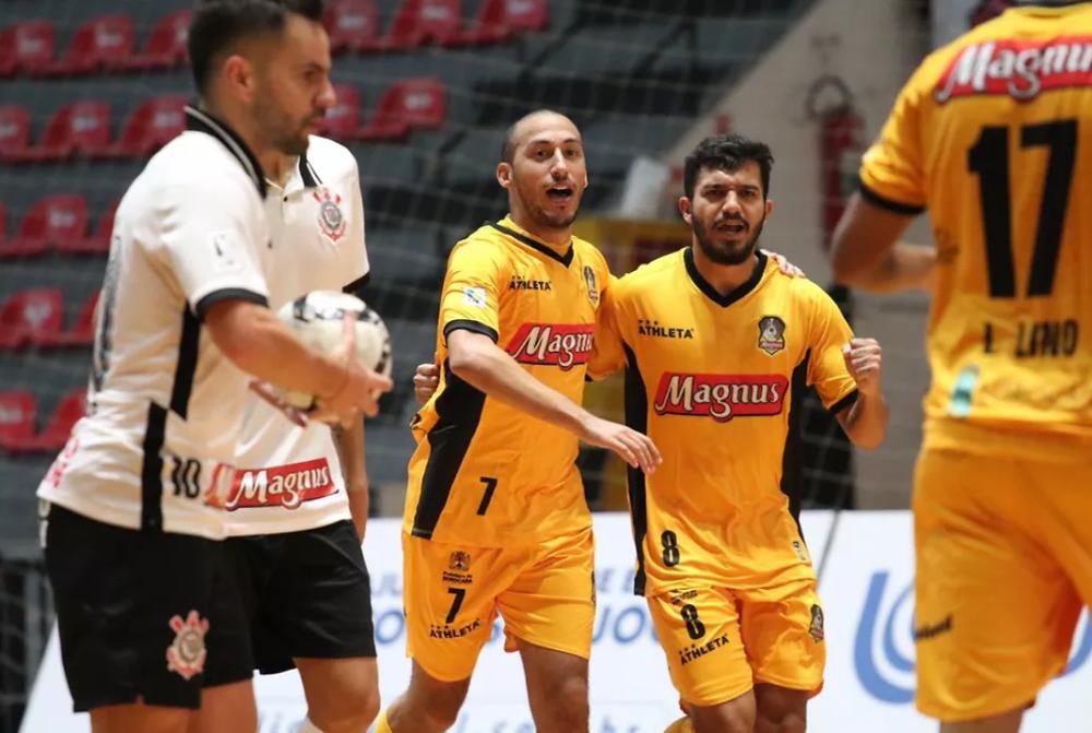 Crédito: Guilherme Mansueto - Corinthians e Magnus decidem um título no futsal pela sétima vez em sete temporadas