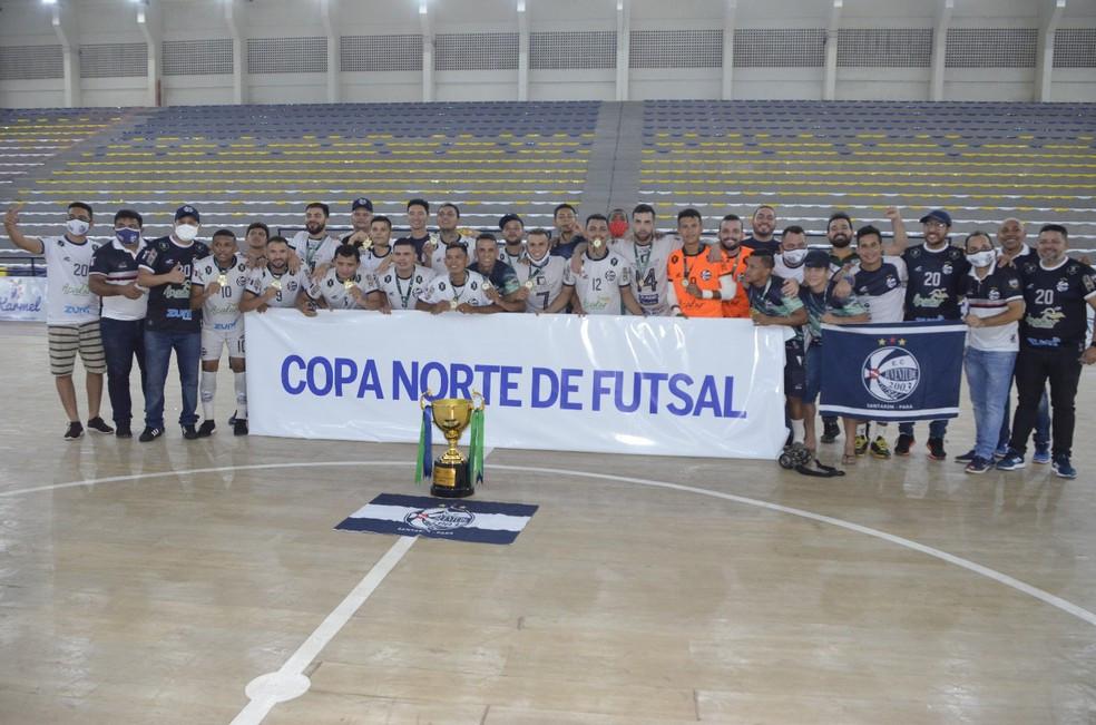 Crédito: Sonora Comunicação - Juventude, campeão da Copa Norte de Futsal
