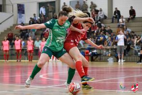 Leoas estreiam no Novo Futsal Feminino Brasil (NFFB) em clássico contra a arquirrival Female
